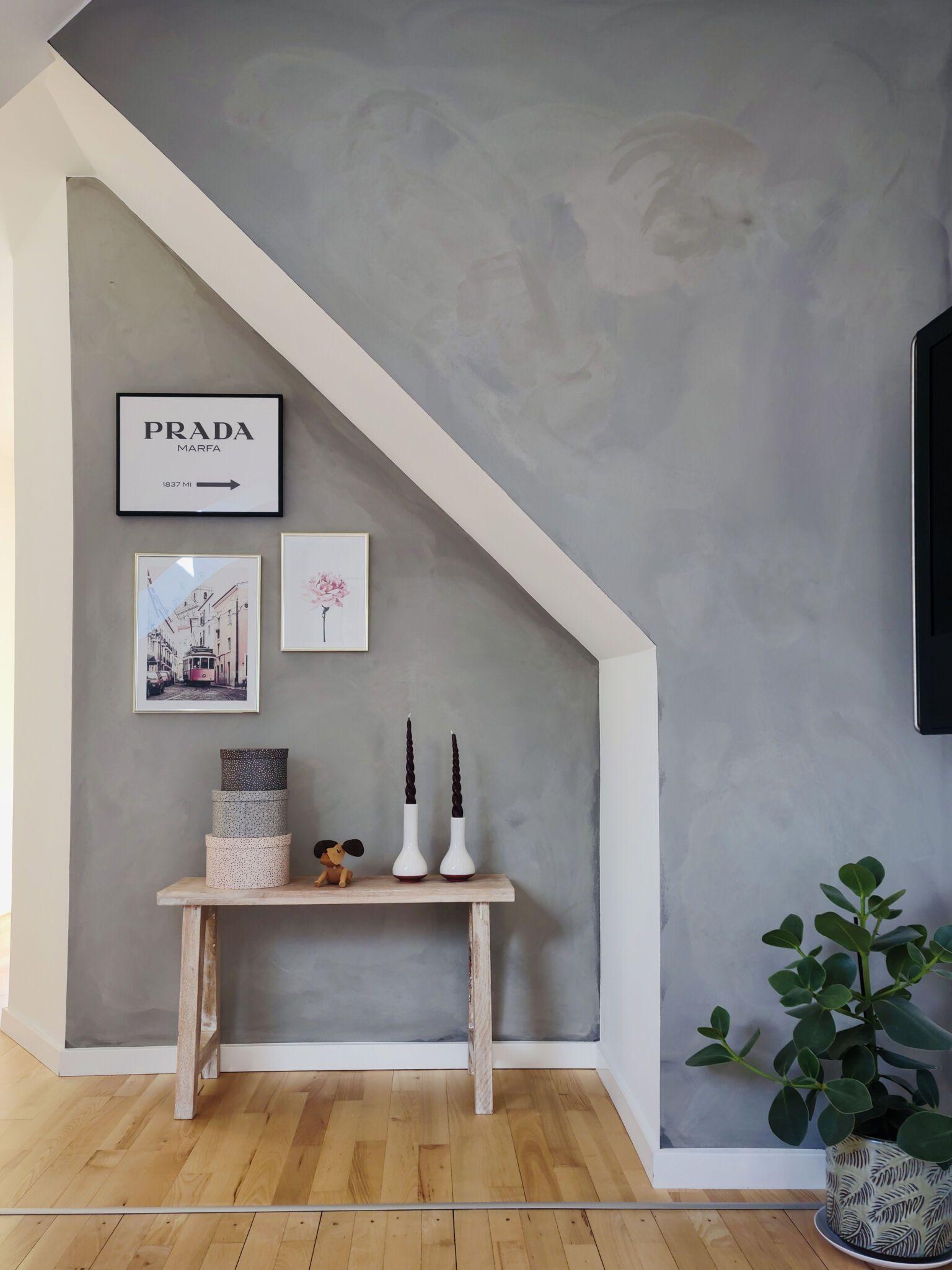 Contec coating til væggen - et alternativ til maling og microcement